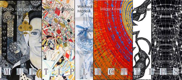 """Multiplicities"" Art Show Closing Reception Tonight 8/9/13"