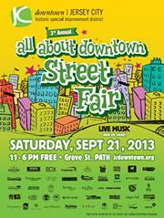 All About Downtown Street Fair 9/21/13