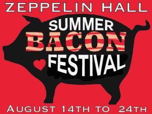 Summer Bacon Festival Flyer