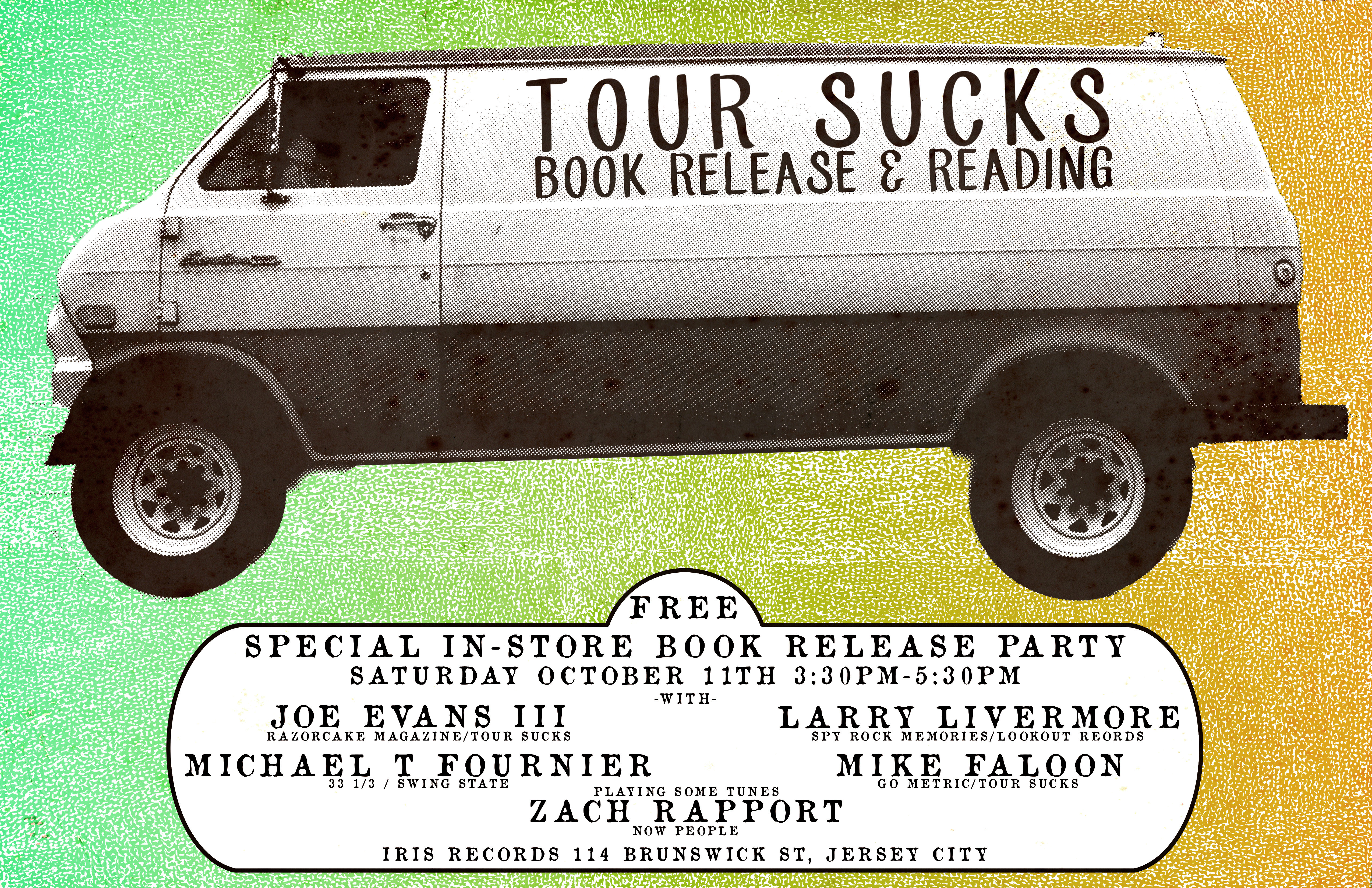 Book Release Party 10/11