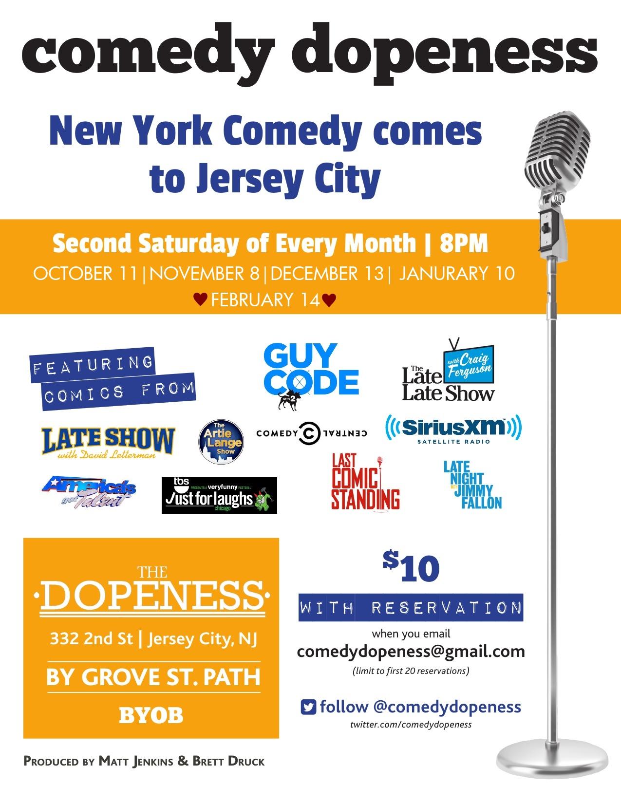 Comedy Night 12/13