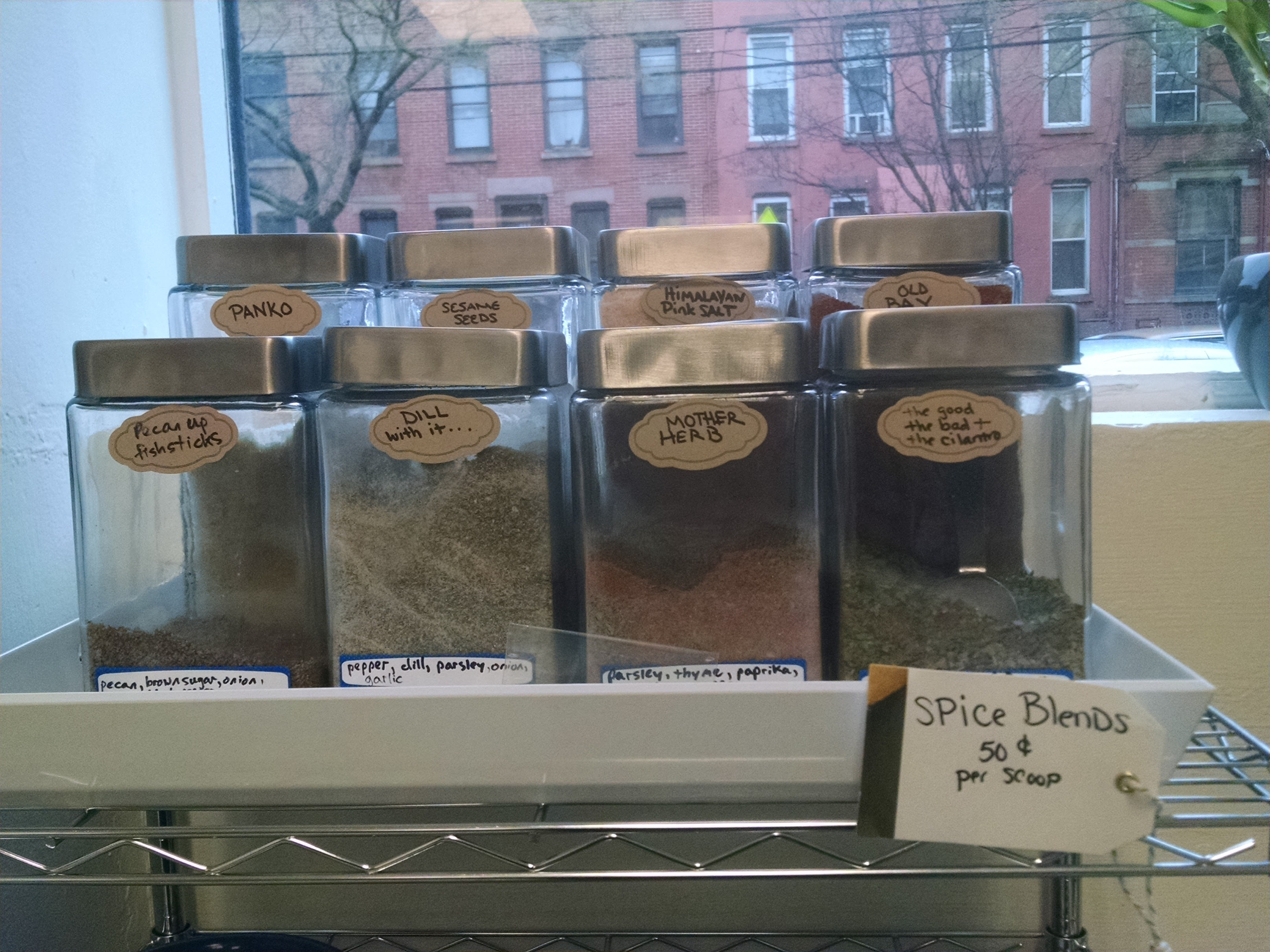 JC Fish Stand spice blends