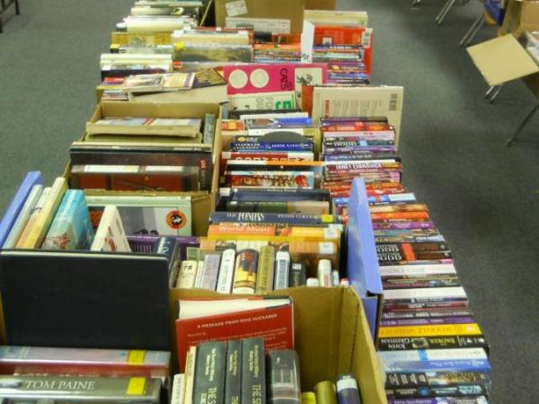 Book Sale Fundraiser [Sunday, May 21st]