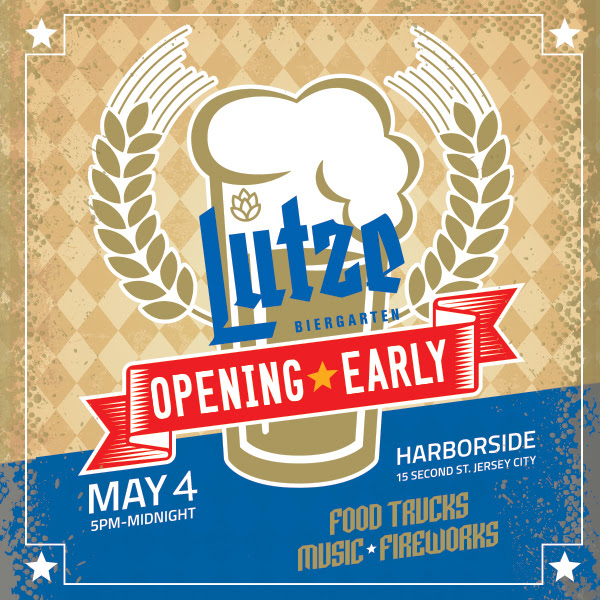 Lutze Biergarten Grand Opening [Now on Thursday, May 4]